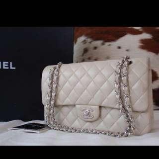 Authentic Chanel Lambskin Medium Flap