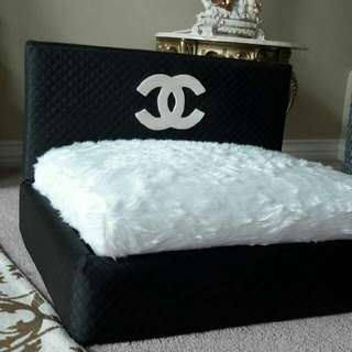CHANEL PET BED