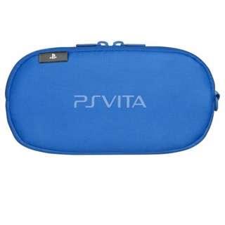 Auth. PSVita PlayStation Vita Soft Padded Carry Case (blue)