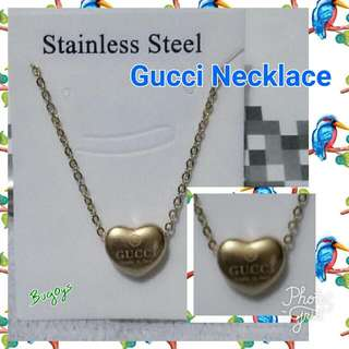 Gucci Necklace Stainless Steel