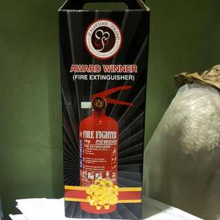 Portable Fire Extinguisher (Fire Fighter Brand)