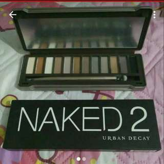 Naked 2 Makeup Palette