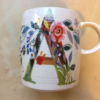 Personalized Mug (letter A)
