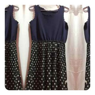 REPRICED! Pre-loved Dotted Lace Dress