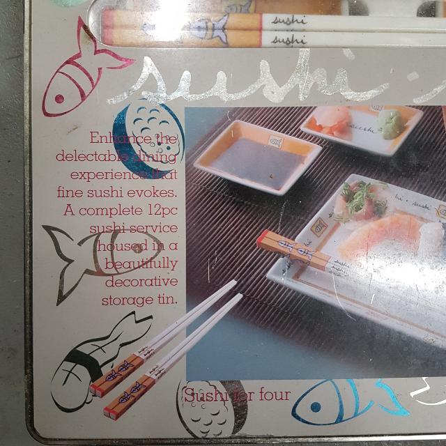 4-person Sushi Set