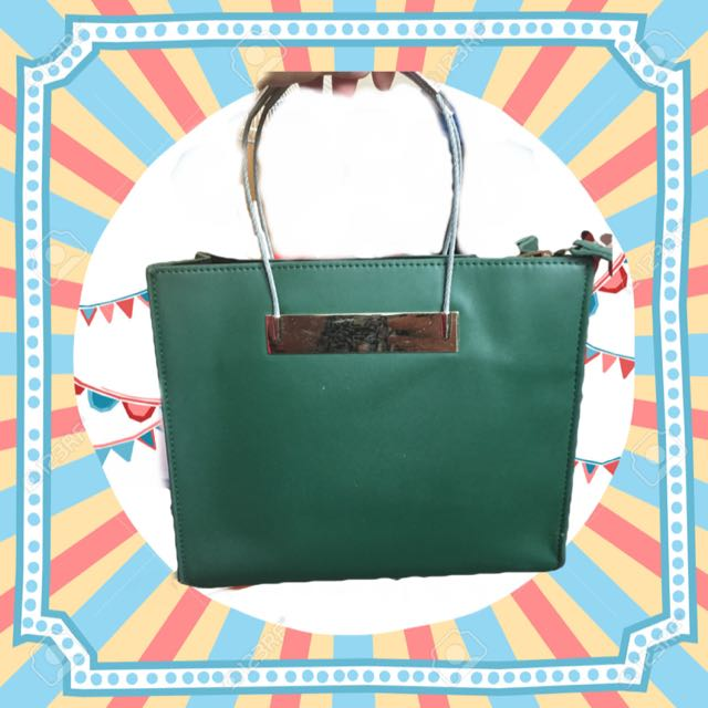墨綠高質感手提包