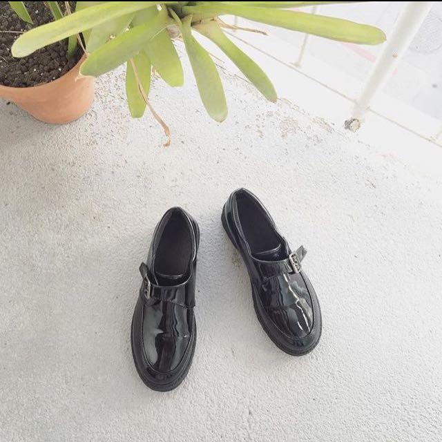 學院風皮鞋🌸