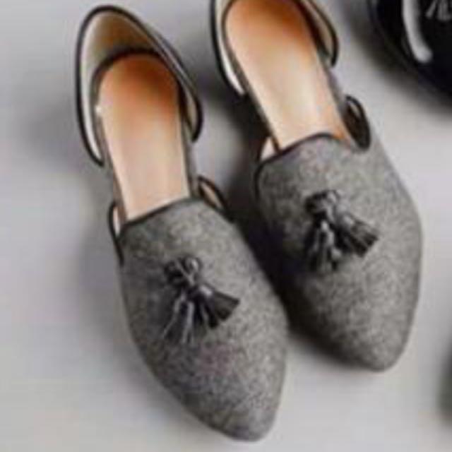 韓製 平底美鞋