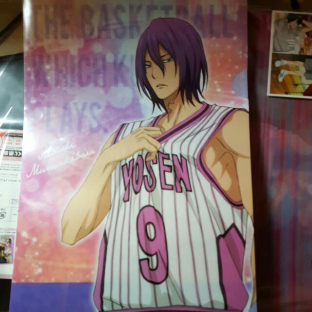 影子籃球員 黑子的籃球 紫原敦 資料夾