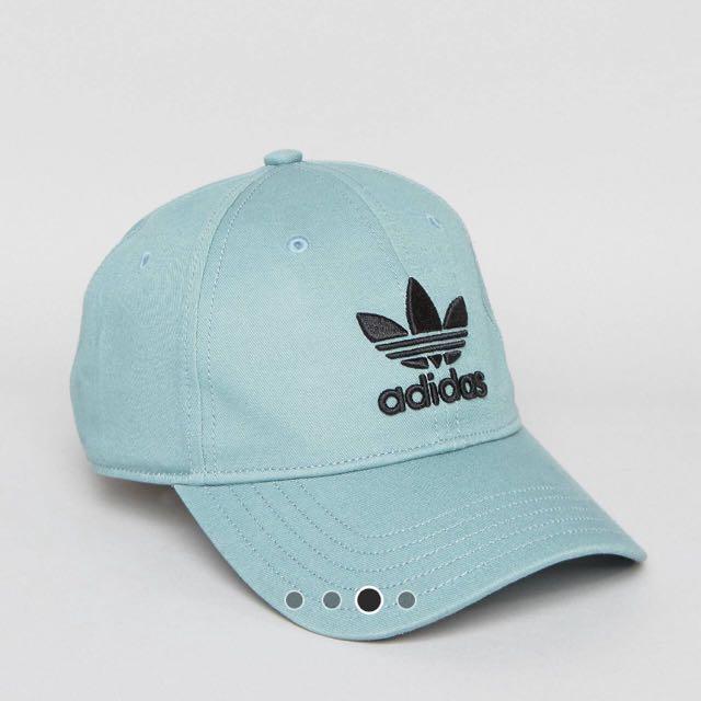Adidas Cap 湖水綠