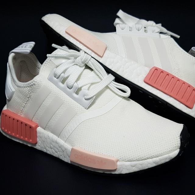 regarder 73d49 9403a Adidas Nmd R1 Mesh Wmns Icy Pink / White Rose
