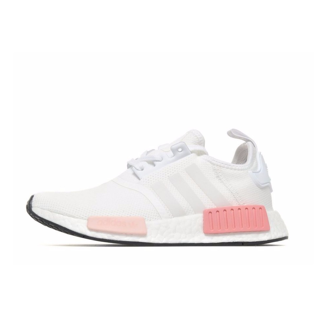 save off 26553 054c4 Adidas Originals NMD R1 Women s White Pink, Women s Fashion, Shoes on  Carousell