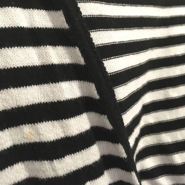 ALLY Striped Cardigan (size M)