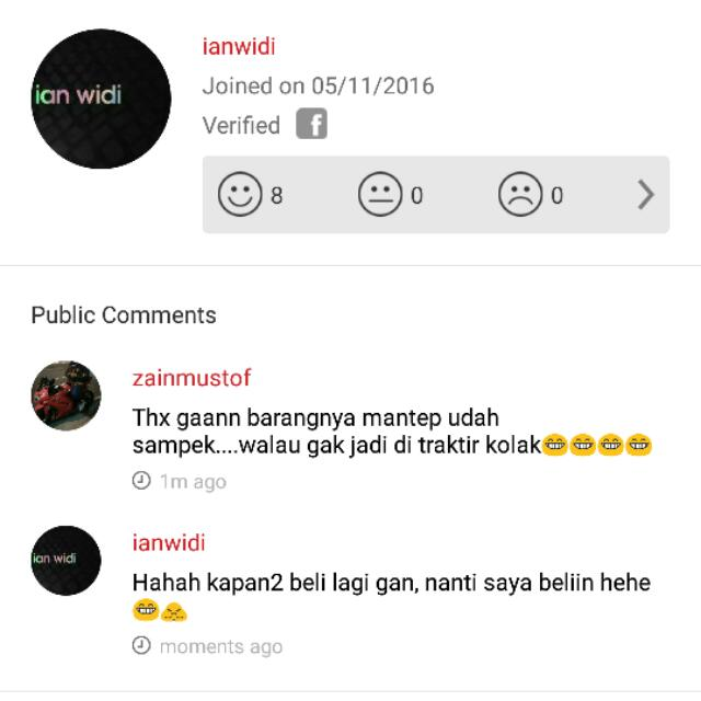 Another Testimony, Ian Widi Trusted
