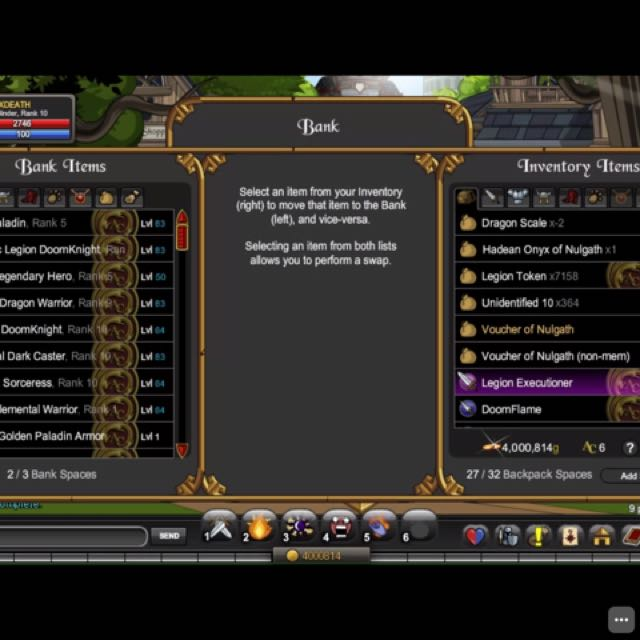 Aqw Account, Toys & Games, Video Gaming, Video Games on
