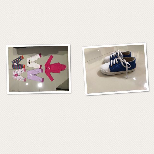 Baju Dan Sepatu Bayi