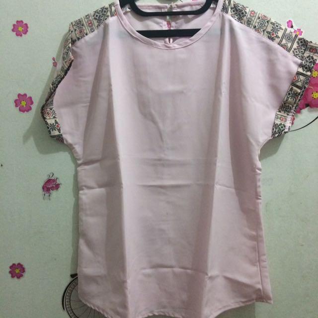 Baju Pink Soft