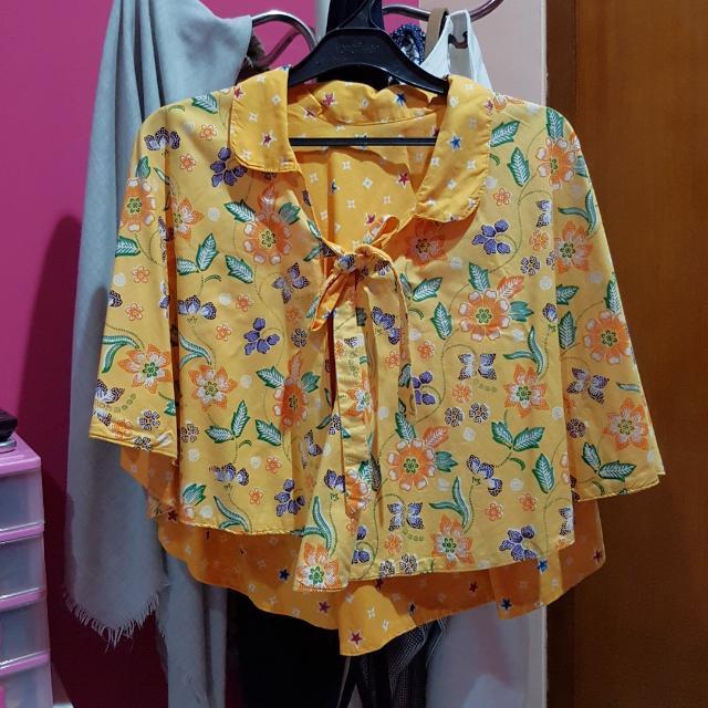 Batik Cape 2 Sides