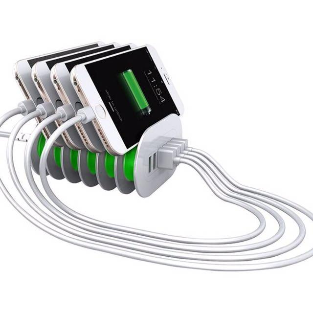 Bavin Charging HUB - 7A Fast Charger 6 USB Ports (BA6702)