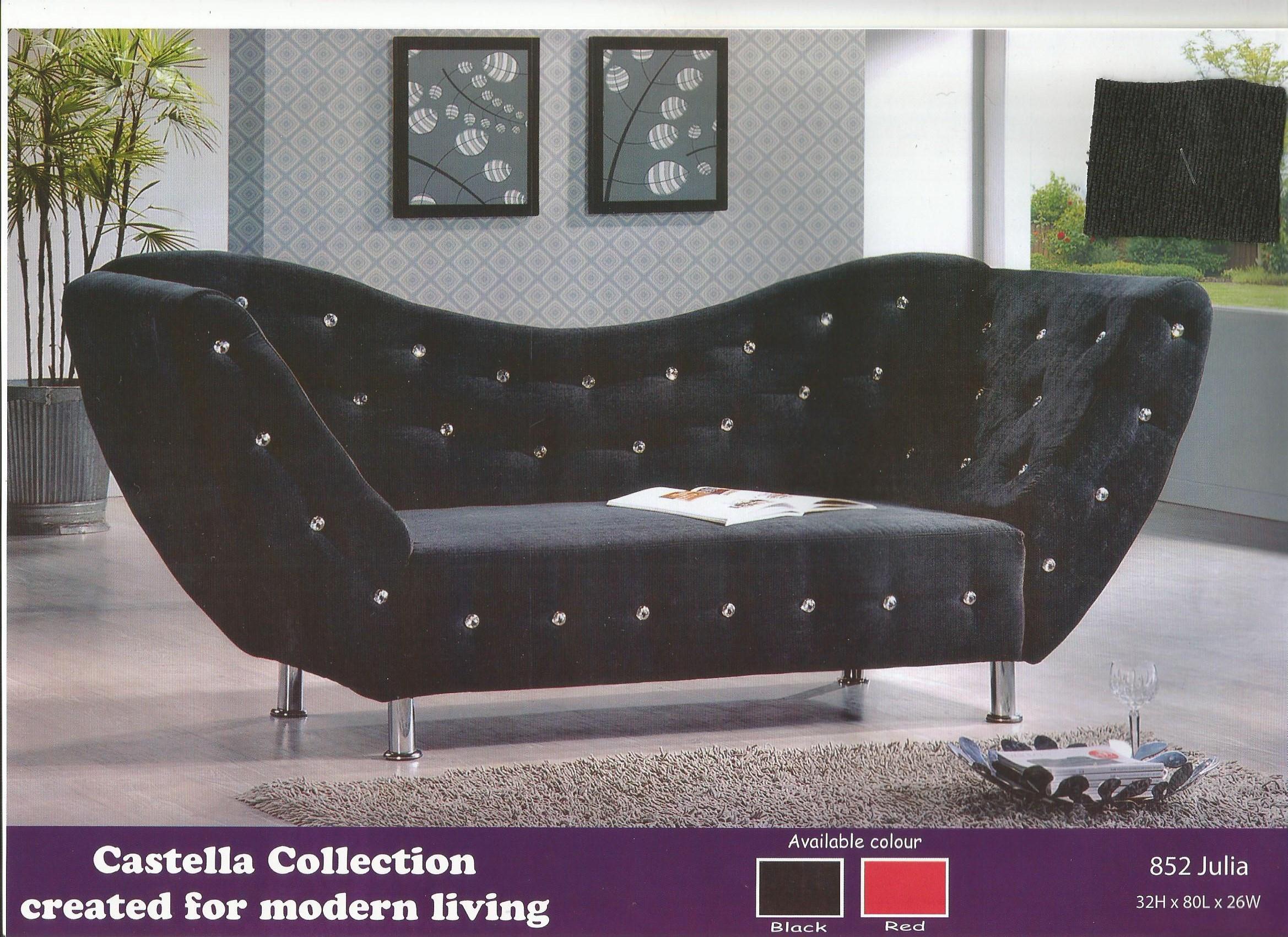Big Sale Hari Raya 2seater Sofa Model 852 Julia Rumah Perabot House Of Bantal Tidur Asli Di Carousell