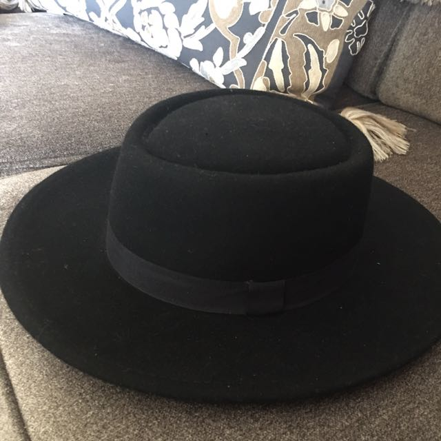 Black Fedora (women's)
