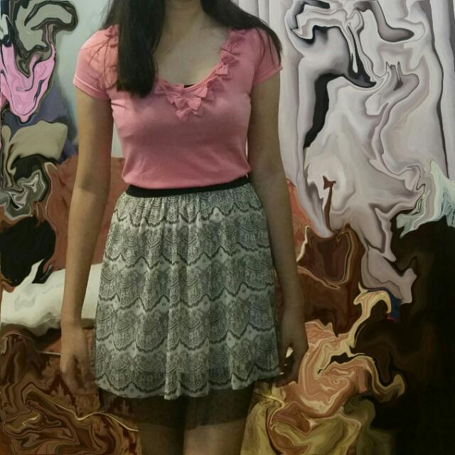 Blouse And Skirt