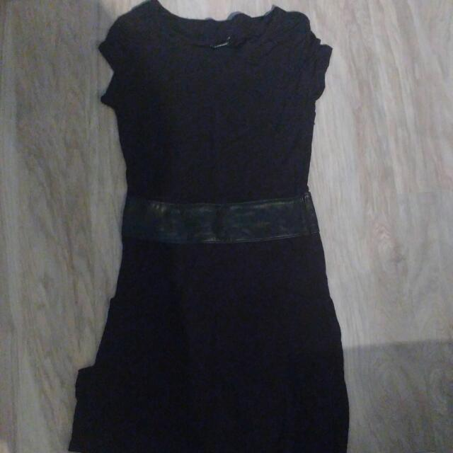 BNWT Club Monaco Black Midi Summer Dress Size 2