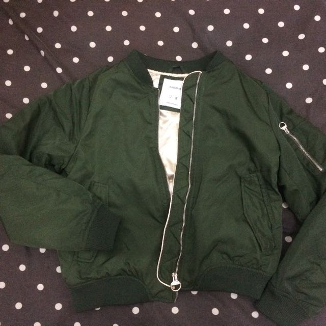 Bomber Jacket Pull And Bear