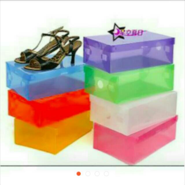 Box Shoes Transparent