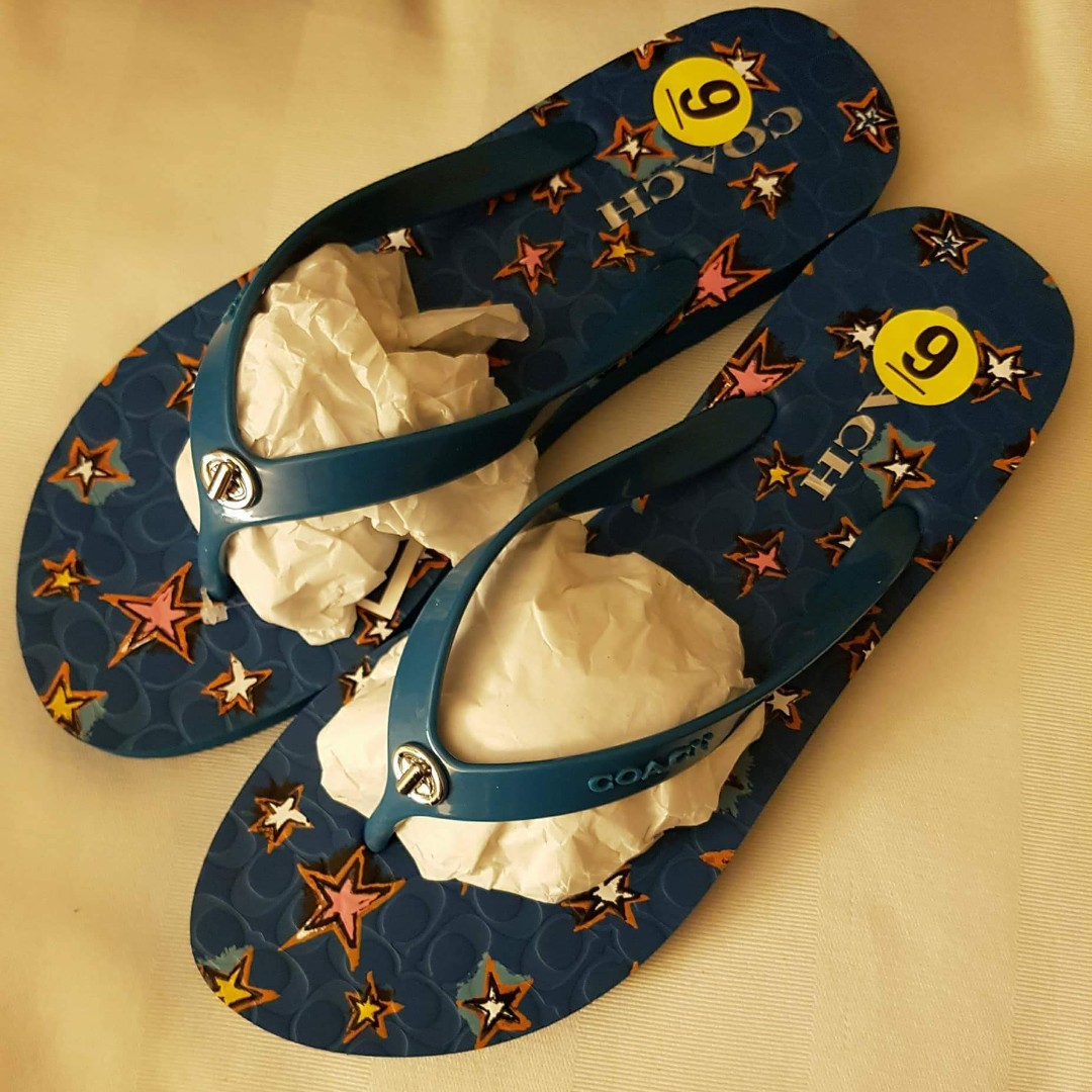 4a9080bc090 Brandnew Authentic Coach Slippers