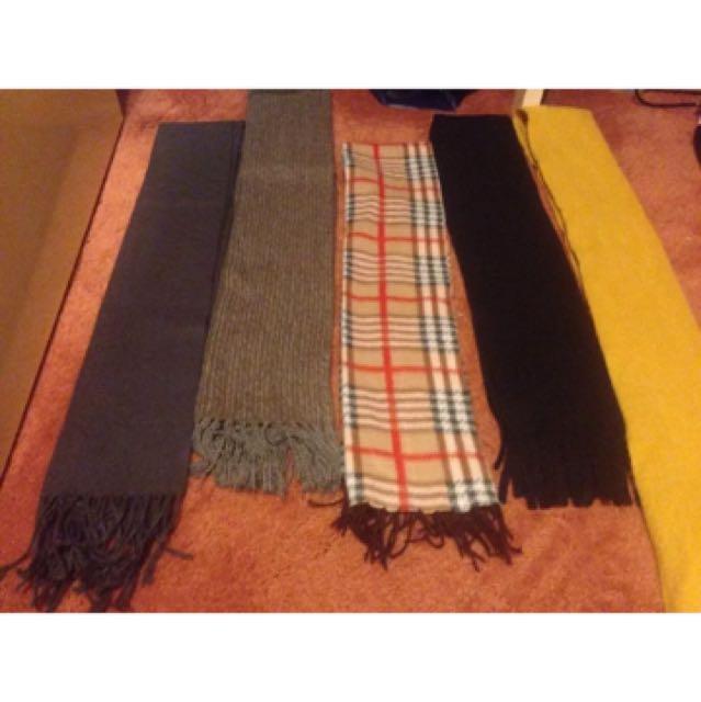 Bulk Buy X5 Ladies Scarves