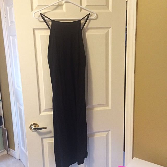 Caged Back Midi Dress