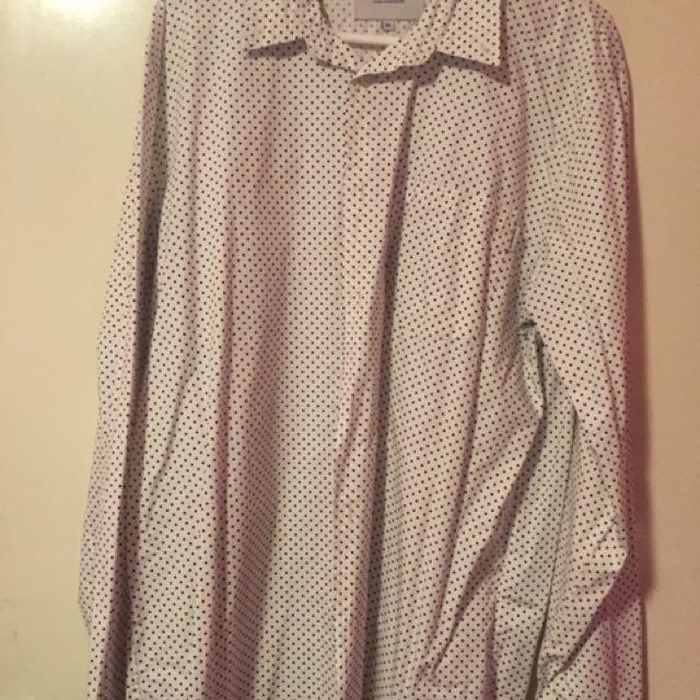 Carhartt  WIP Polka Dot Shirt - XL - Good Condtion