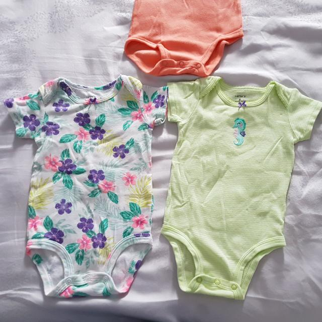 3c3e3cc9b Carters Baby Romper Set Of 3 Pcs