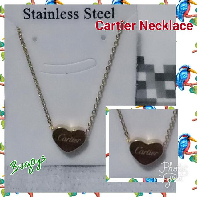 Cartier Necklace Stainless Steel