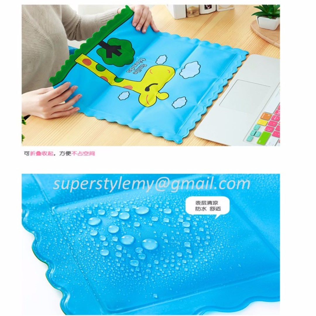 Cartoon Ice Pad Summer Self Cooling Seat Cushion For Children Adult Pet Decorative Pillows 36 36cm