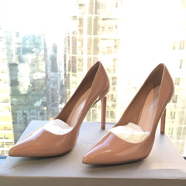 Charles And Keith Pointed Pumps
