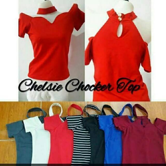 Chelsie Choker Top