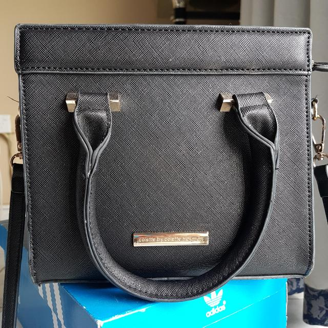 Colette Black Small Mini Tote Bag