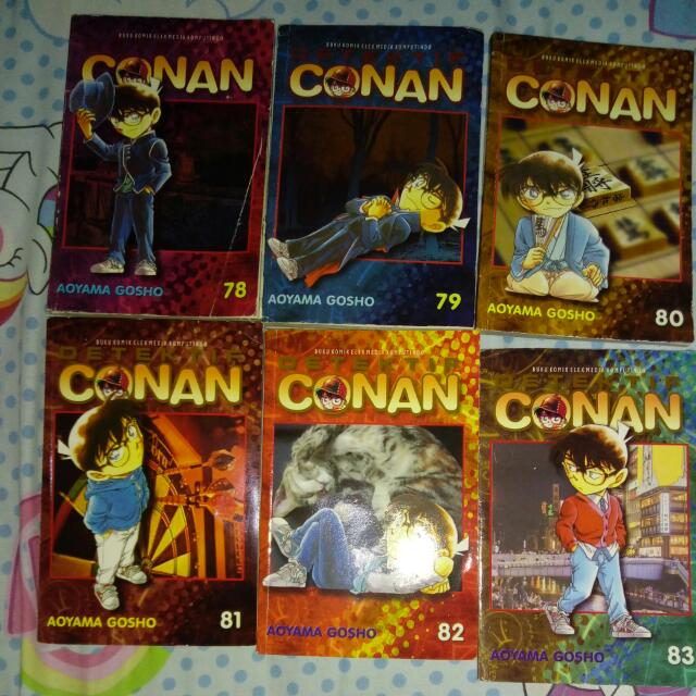 Conan Comic Series