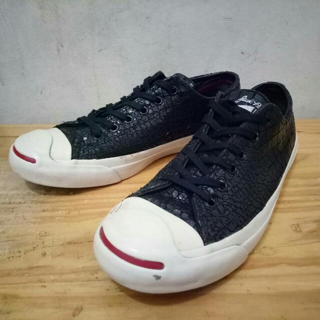 """Converse Jack Purcell Leather """"VERY RARE"""" Ox Year Of The Dragon -Croc Skin-"""