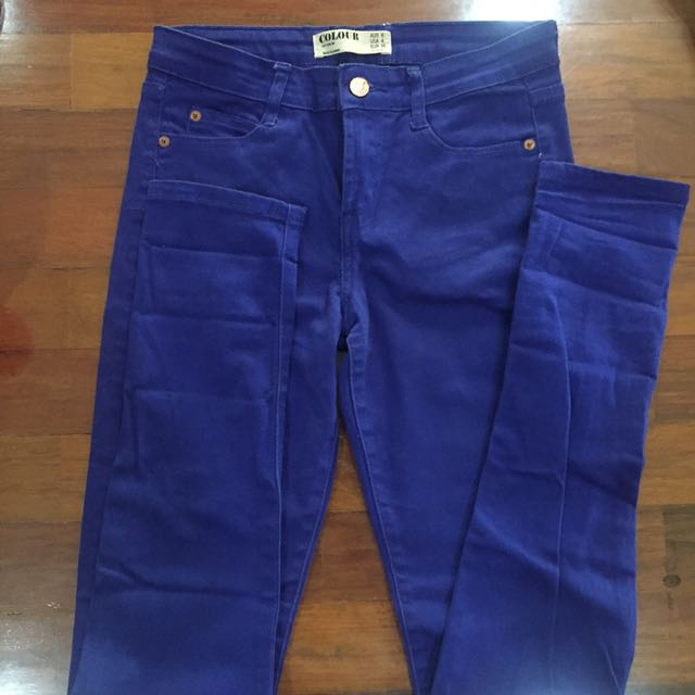 Cotton On - Blue COLOUR Slim Denim