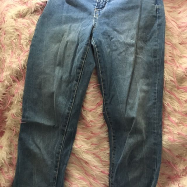 Cotton On Super Skinny Light Wash Jeans