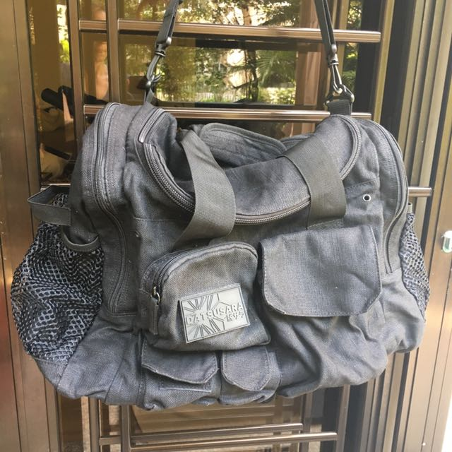 caa1125fbb05 Datsusara Hemp Duffle Bag