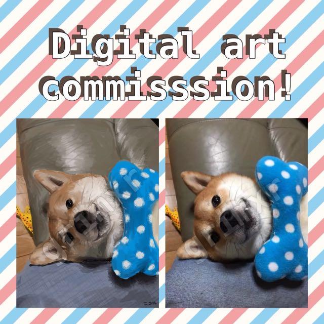 Digital Art Commission