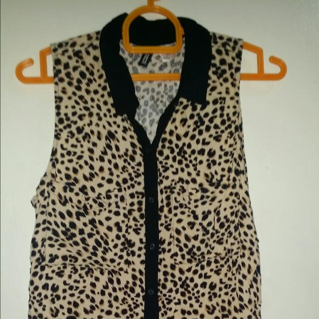 Divided By H&M Leopard Sleeveless