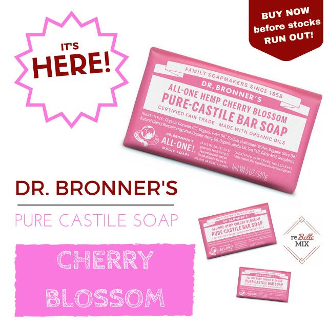 Dr. Bronners Bar Soap - Cherry Blossom