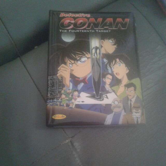 DVD detective conan vol.the fourteenth target