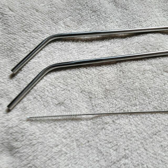 Eco Friendly Steel Straw Set