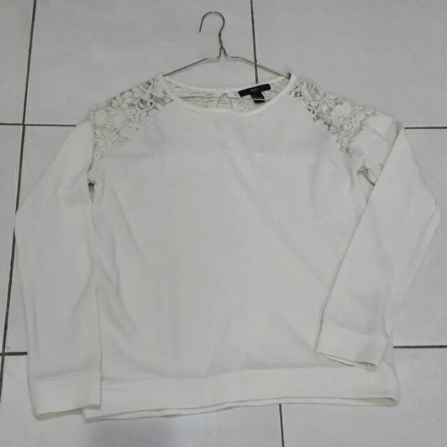 F21 Lace Shirt